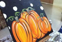 Painting with a twist... / Painting canvas' at home! / by Whitley Hill