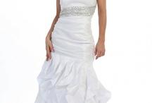 Affordable & Chic Wedding Dresses via BridalSassique / by BridalSassique.com