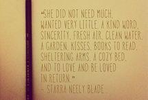 Words / by Megan Bitting