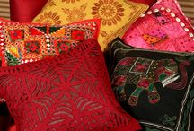 Cushion Covers / Cushion Covers: Clothing Your Comfort / by Rajrang