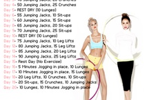 What I should be doing to get fit! / by Rosie Quinn