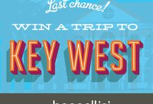 Win a Trip to Key West / Dreaming of palm-lined streets, bright sunsets and outdoor watersports? Look no further than Key West, FL!   Enter for a chance to win a trip PLUS an exclusive baggallini travel product package! Sweepstake ends May 16th   / by baggallini