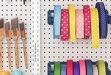 Clever storage & Organization ideas / by Stacy Jardine