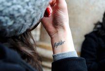tattoo / by Tiffany Bilderback