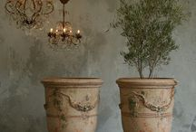 French Anduze Pots / by Stephanie Hentges
