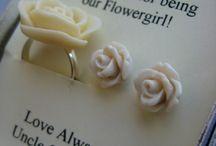 wedding Flower girl --- Ring bearer / by Amber Olivier
