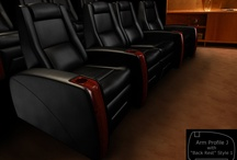 The J Series / by Elite Home Theater Seating