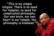 The Quotable Dalai Lama / A collection of pictorial quotations from the Dalai Lama, Lao Tzu, and other Eastern thinkers. Very spiritual, very wise, very inspiring. / by John Kremer / Pinterest Expert