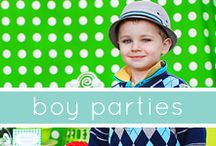 Birthday Party Ideas / by Amber Rowden-Whitaker