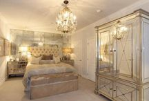 bedrooms / by Jana Lubert