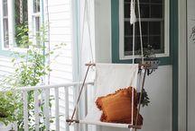 terasa i jastuci / by Magrit