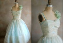 Vintage dreamy dresses / by Michele Bessey
