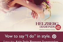I do! With Aisle Style! /  Pinterest Sweepstakes from David's Bridal and Helzberg Diamonds!  / by Jennifer Deaton