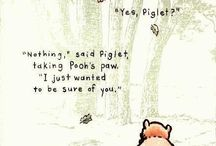 Words of Wisdom from Pooh / by Alicia Anderson