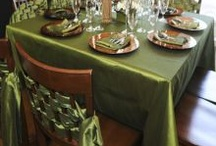 Tablescapes / Wedding and party table decor / by Ellen Martin Kramer