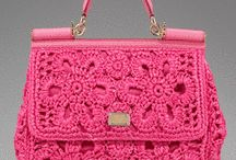 Bolsos de ganchillo.Crochet bags and purses / diy_crafts / by nieves de las heras
