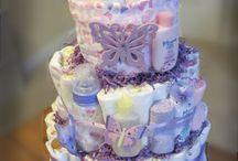 Diaper cakes / by Anush Kirakosian