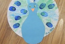 Preschool Spring Crafts / by Christy Price