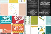 Project Life ideas / Ideas, printables, inspiration  / by Amanda B