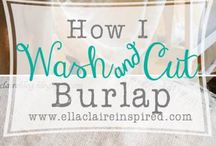 All Things Burlap / by Monogram Wreaths