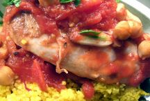 Yummy / http://www.food.com/recipe/middle-eastern-chicken-399253 / by Patricia Morris Donegan