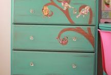 Furniture Refinishing & Reupholstery / Furniture redo ideas / by Eileen Dowell