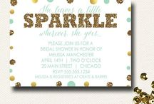 Mint & Gold Party / by Design{on}Paper