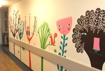 Murals for kids - inspiration / by Jill Lycoops