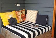 porch ideas / by Amanda Mobley