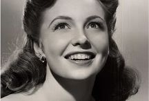Joan Leslie - Actress 1940's / Joan was married to my mom's cousin, Dr Bill Caldwell / by Monica
