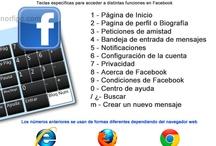 Trucos y cosas útiles para Facebook, Twitter y Pinterest / Algunas imágenes que contienen información útil, que nos pueden ayudar a desenvolvernos mejor en estas redes sociales. / by NorfiPC