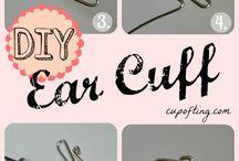 Wire Wraps - Tuts - Ear Cuffs / by Sherry Fox