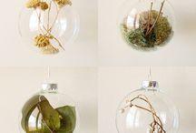 Glass bauble ideas / by Yvette Adams