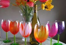 wine glasses / by Pam Collins