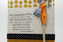 Cards stamping bella  / by Annie van Hemelrijk