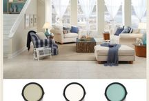 Seaside Styles and Colors / Beach theme inspired paint color combinations.  / by BEHR®