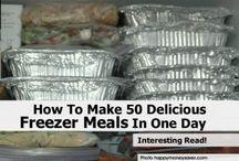 Freezer meals / by Jennifer Storey