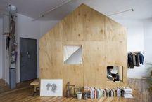 Maisons ou espaces / by Sandra-chloé Dionne