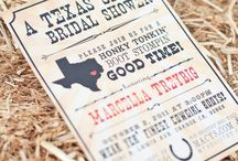 Texas theme shower / by Alysia - Made of Metal