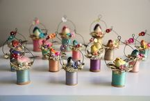 wooden spools / by Tracey Isidro