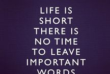 LIFE IS TO SHORT!!!! / by BAMA GIRL