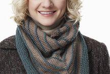 knit shawls/wraps (colored) / by Tatyana Boynetskiy