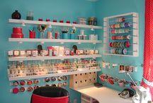 craft storage / by Maredith Adsit