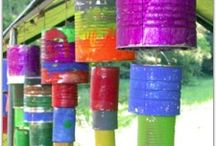 Trash to Treasure: Tin Cans / Transform your tin cans into treasure!  Create your own tin can wind chimes and more. Check out Green Kid Crafts products on http://www.GreenKidCrafts.com / by Green Kid Crafts: Eco Friendly Creativity and Science Kits