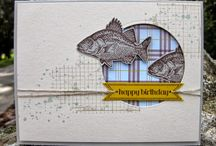 Masculine cards  / by Kim Bright
