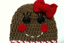 Crochet Hats / Crochet hats, headbands, tiaras, helmets...if it goes on your head, it's here! / by Amie Rotruck
