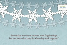 Snowflake collection! / by Noriko Sunfields