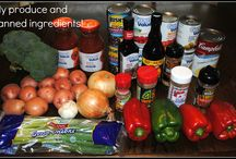 CrockPot/Freezer Meal Experiment / by Joan Anne
