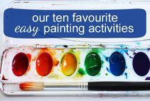 Kids Crafts Ideas / by Annie Embertson