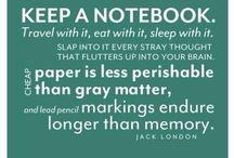 Notebook / by Marsha McDonald
